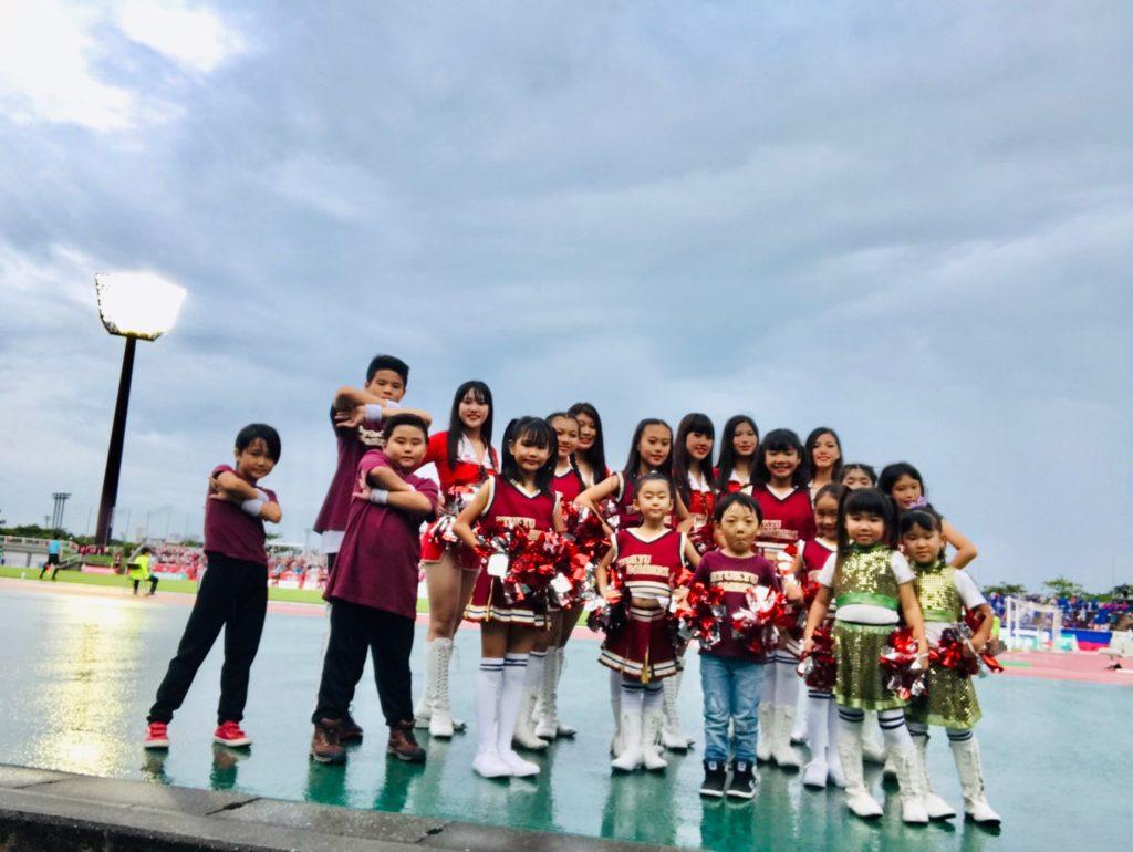 FC琉球ホーム戦 第19節 VS ヴァンフォーレ甲府戦